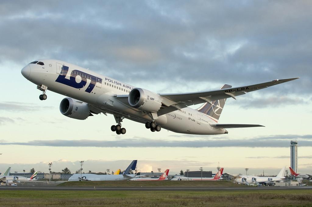 A LOT kölcsöngépe lesz az első Dreamliner a flottában. (Fotó: Boeing Company) | © AIRportal.hu