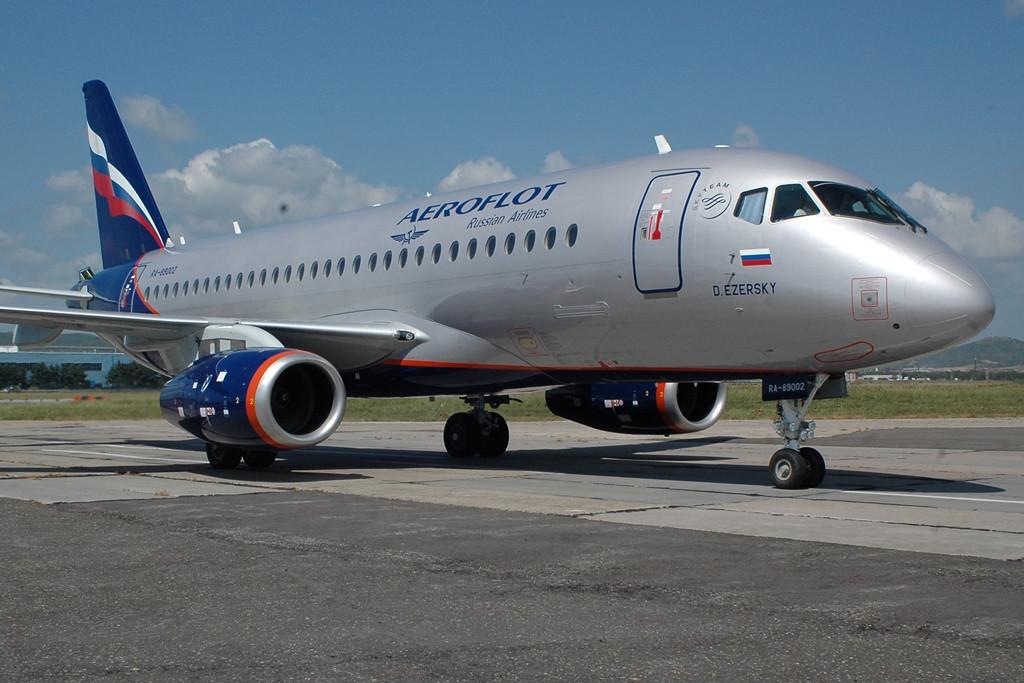 Aeroflot Superjet 100-as. (Fotó: SuperJet International) | © AIRportal.hu