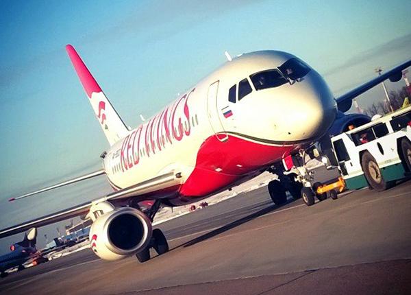 Az első Red Wings Superjet 100-as. (Fotó: Red Wings) | © AIRportal.hu