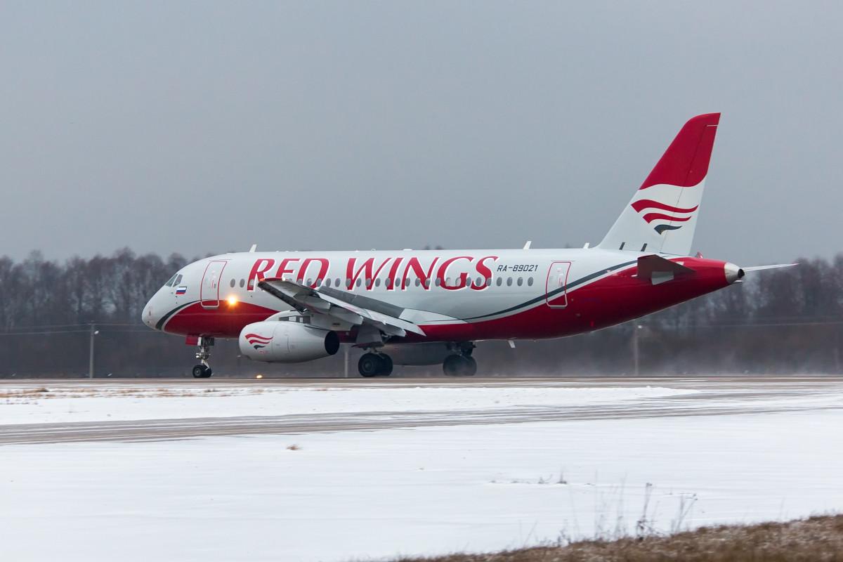 Az RA-89021 lajstromú, immáron Red Wings Superjet. (Fotó: Nikolay Krasnov via SuperJet Inernational) | © AIRportal.hu
