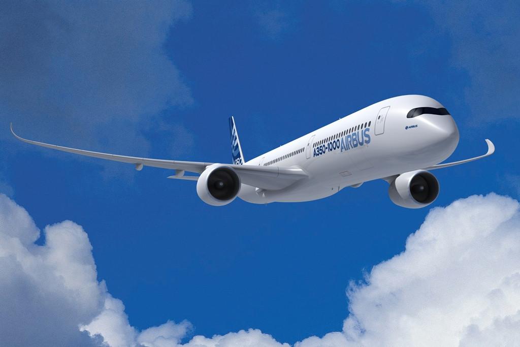 Airbus A350-1000XWB látványterv. Az ezres A350-es 7 méterrel lesz hosszabb az A350-900-asnál. (Fotó: Airbus) | © AIRportal.hu