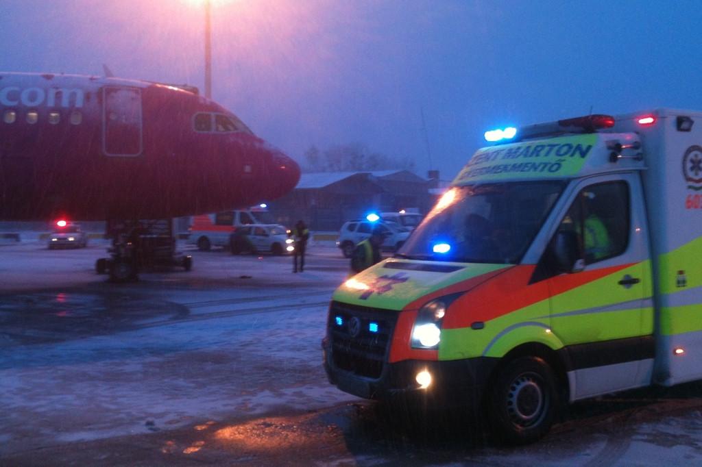 Egy másik fotó a helyszínről. Fotók: Airport Medical Service | © AIRportal.hu