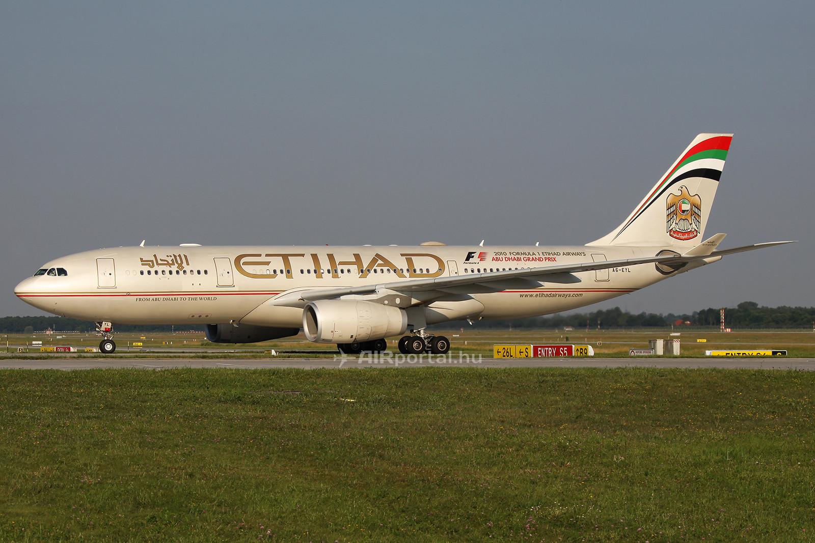 Az Etihad A330-as gépe (Fotó: AIRportal.hu) | © AIRportal.hu