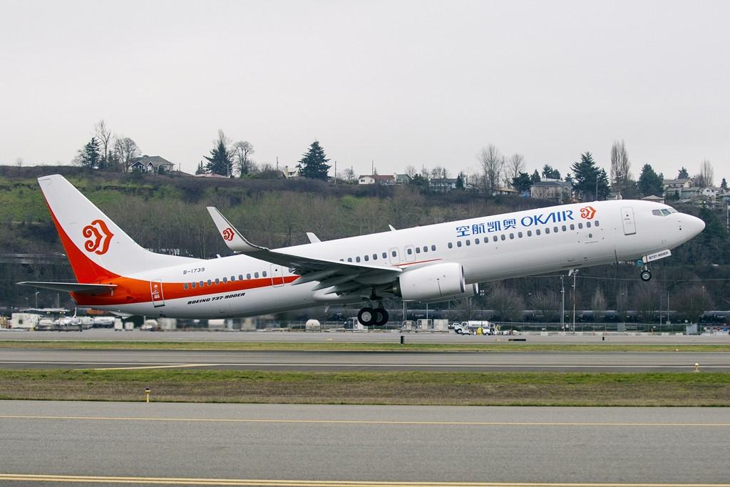Az Okay Airways első Boeing 737-900ER gépe. (Fotó: Boeing Company) | © AIRportal.hu