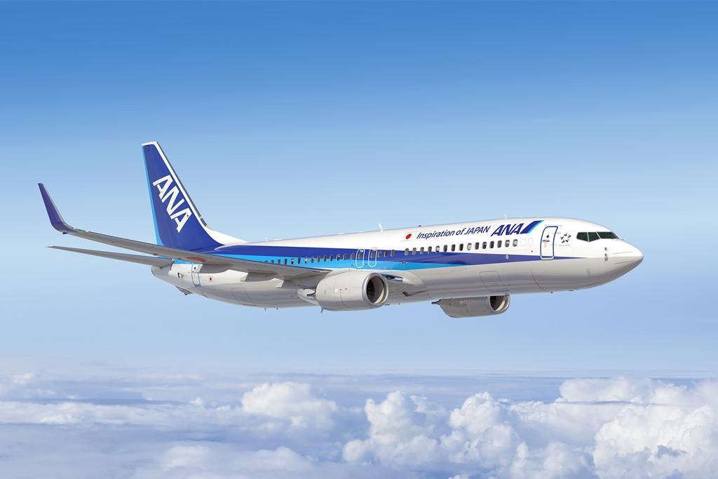 Boeing 737-800NG ANA festésben. (Fotó: Boeing Company) | © AIRportal.hu
