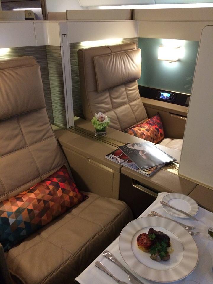 A Boeing 787-es üzemeltetők körében jelenleg mindent vivő Etihad First Class. (Fotó: Etihad Airways) | © AIRportal.hu