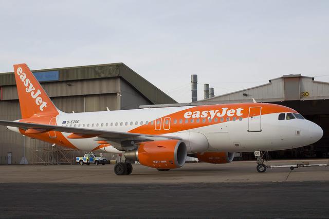 Az új festés a társaság Airbus A319-es gépén. (Fotó: easyJet)   © AIRportal.hu