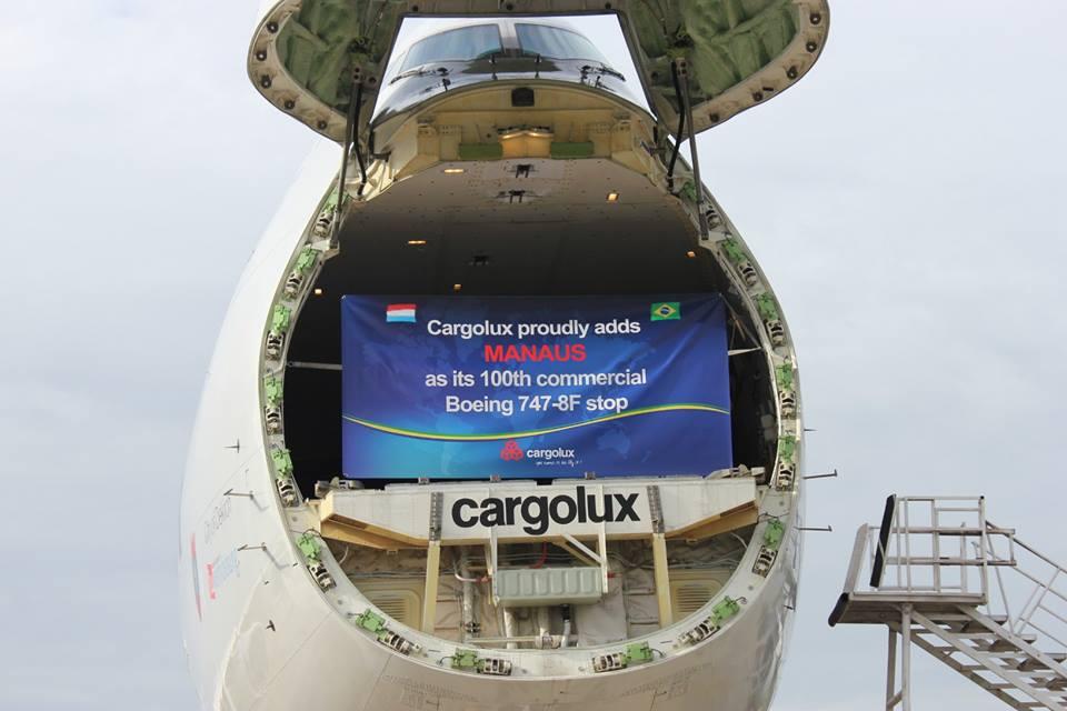 Meglepetést rejtett a kinyíló rakodóajtó. (Fotó: Cargolux) | © AIRportal.hu