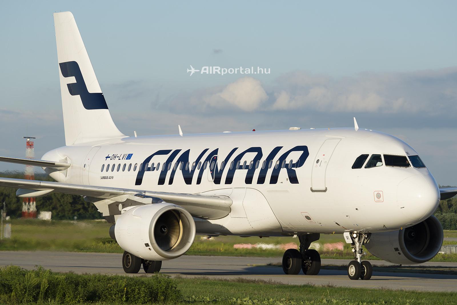 A Finnair Airbus A319-es repülőgépe.(Fotó: Bodorics Tamás - AIRportal.hu) | © AIRportal.hu