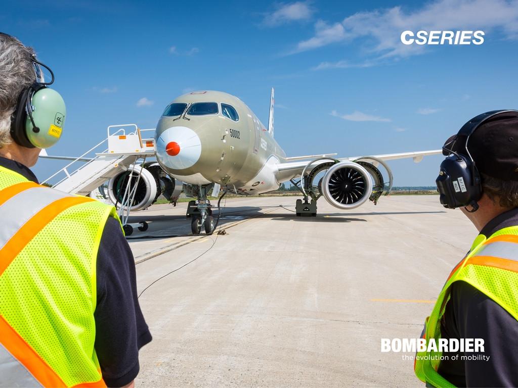 Bombardier CSeries berepülési program fotó. (Forrás: Bombardier)   © AIRportal.hu