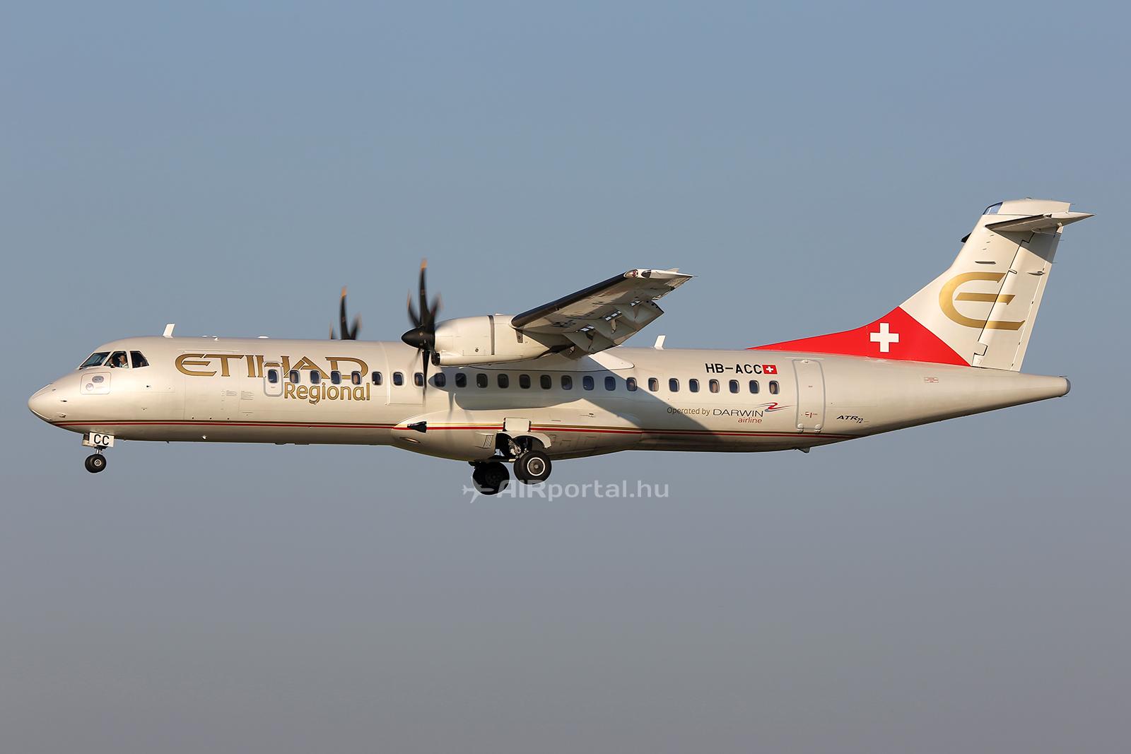 Az Etihad Regional kizárólag turbólégcsavaros repülőgépekből álló flottát üzemeltet. (Fotó: AIRportal.hu) | © AIRportal.hu