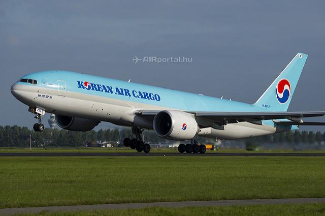 Az első Boeing 777F-es 2012 februárjában került átadásra. (Fotó: Bodorics Tamás - AIRportal.hu)   © AIRportal.hu