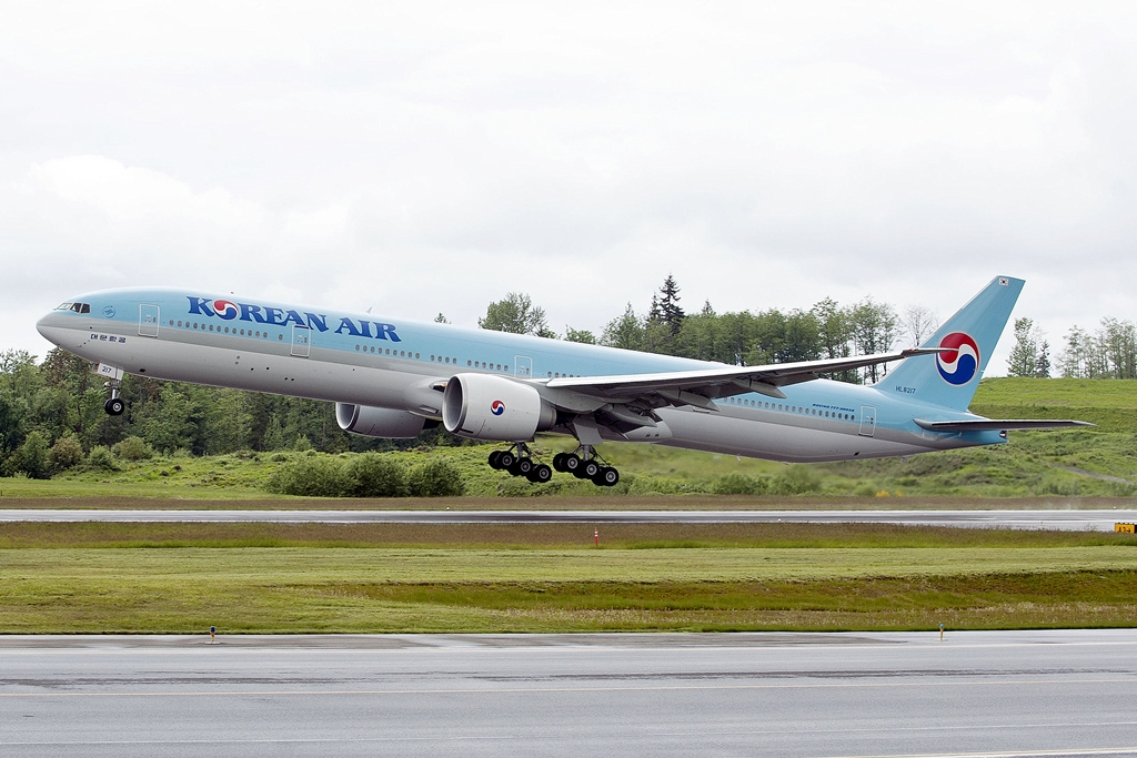 Február végétől Boeing 777-300ER repül Szöulból, közvetlenül Rómába. (Fotó: Boeing Company) | © AIRportal.hu