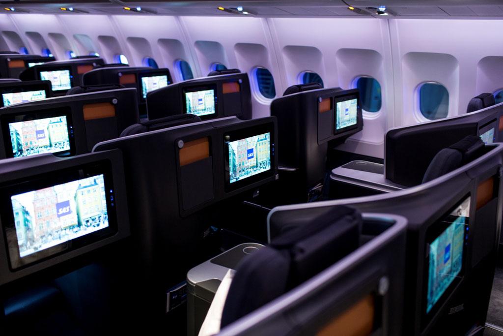 A business osztály. (Fotó: SAS) | © AIRportal.hu