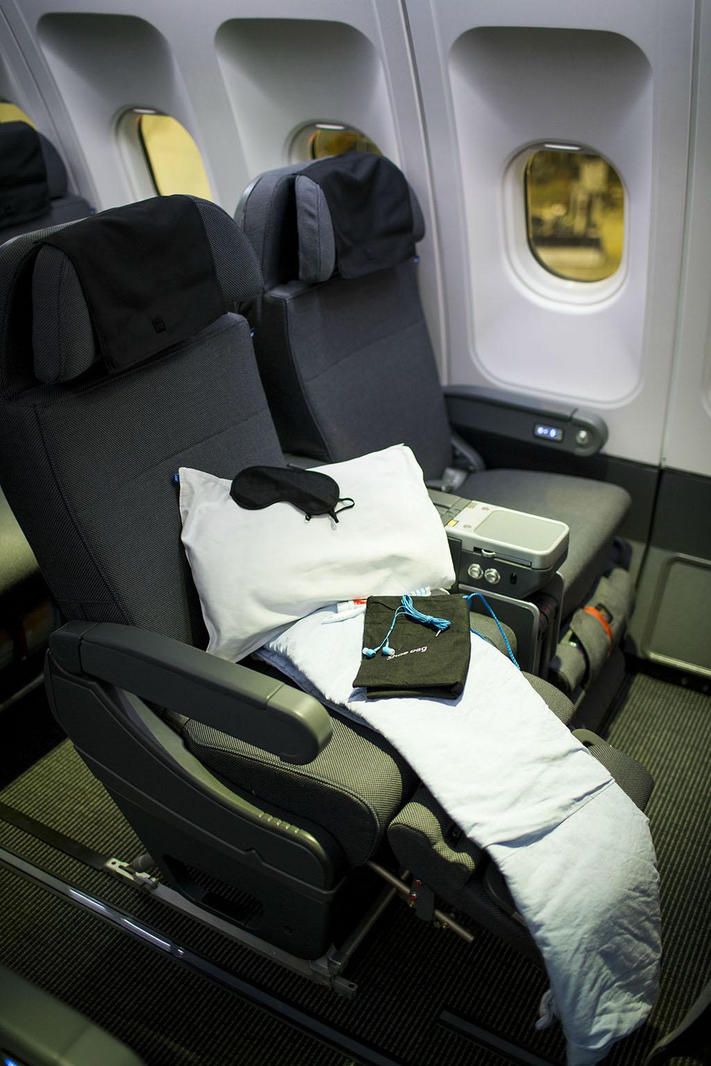 ...és a SAS Plus ülés. (Fotó: SAS) | © AIRportal.hu