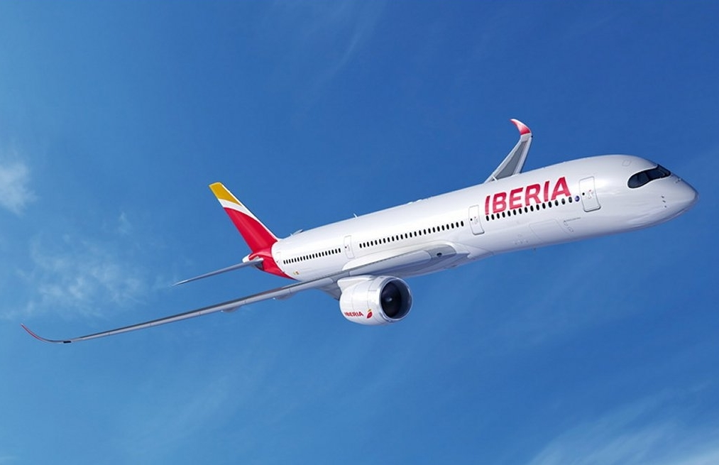 Airbus A350-900XWB Iberia látványterv. (Forrás: Airbus) | © AIRportal.hu
