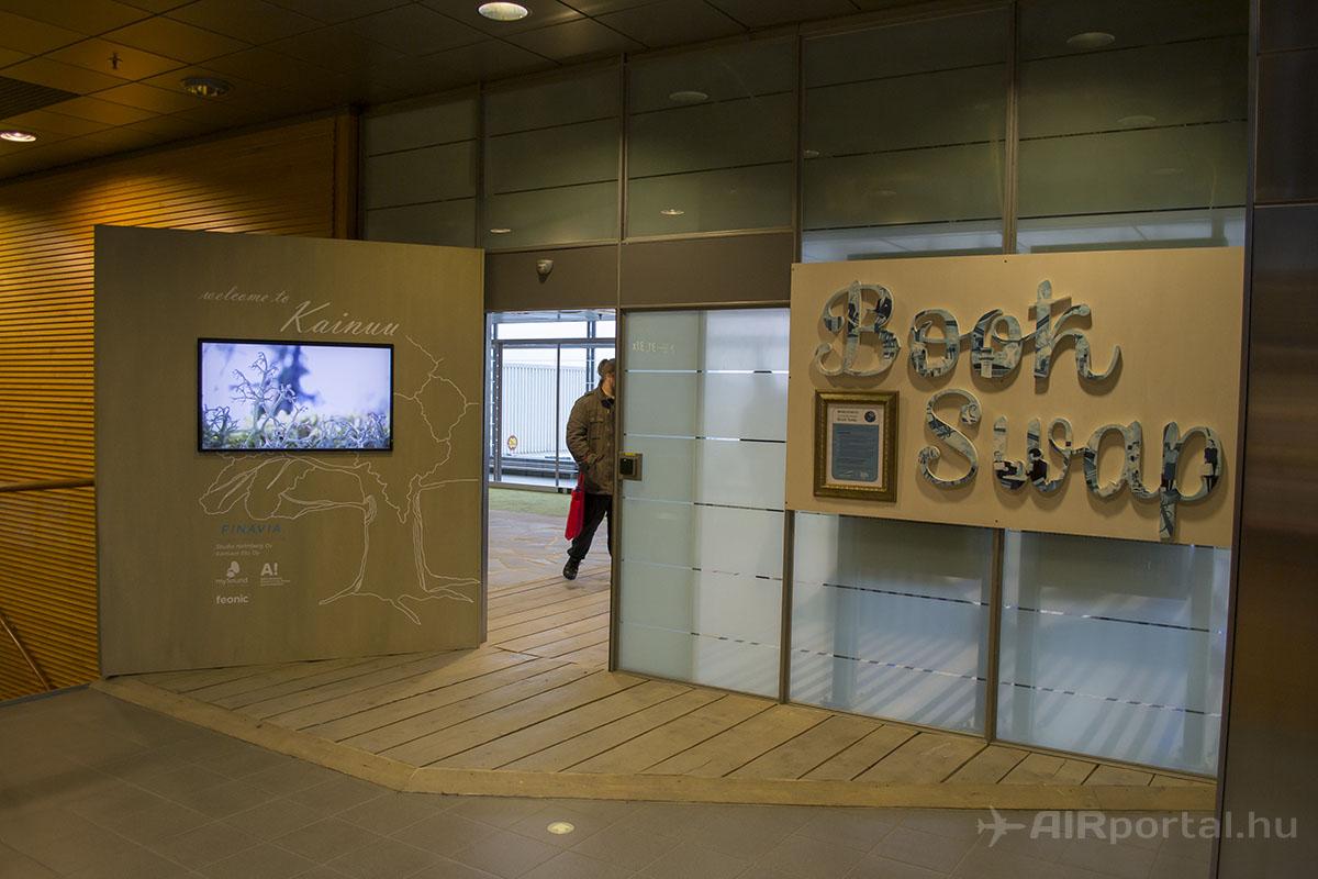A Book Swap szoba bejárata... | © AIRportal.hu