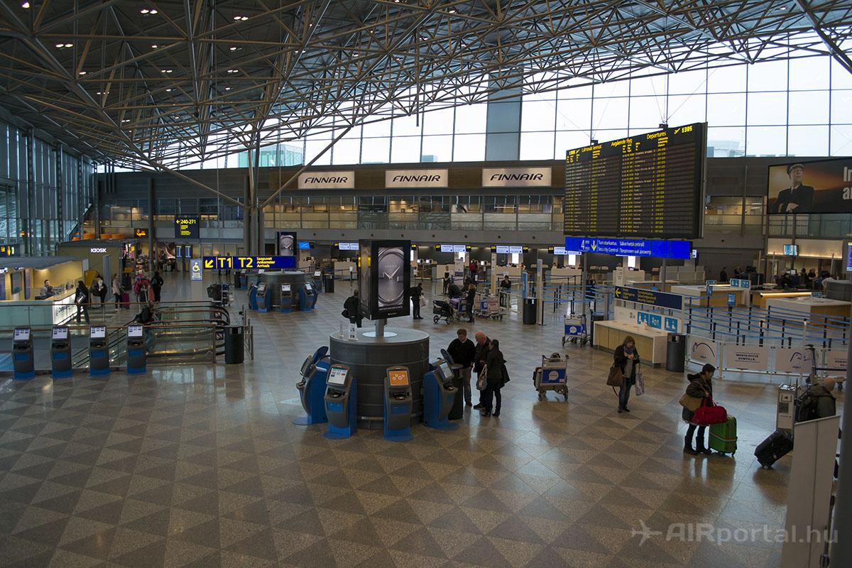 A 2-es terminál indulási szintje. | © AIRportal.hu