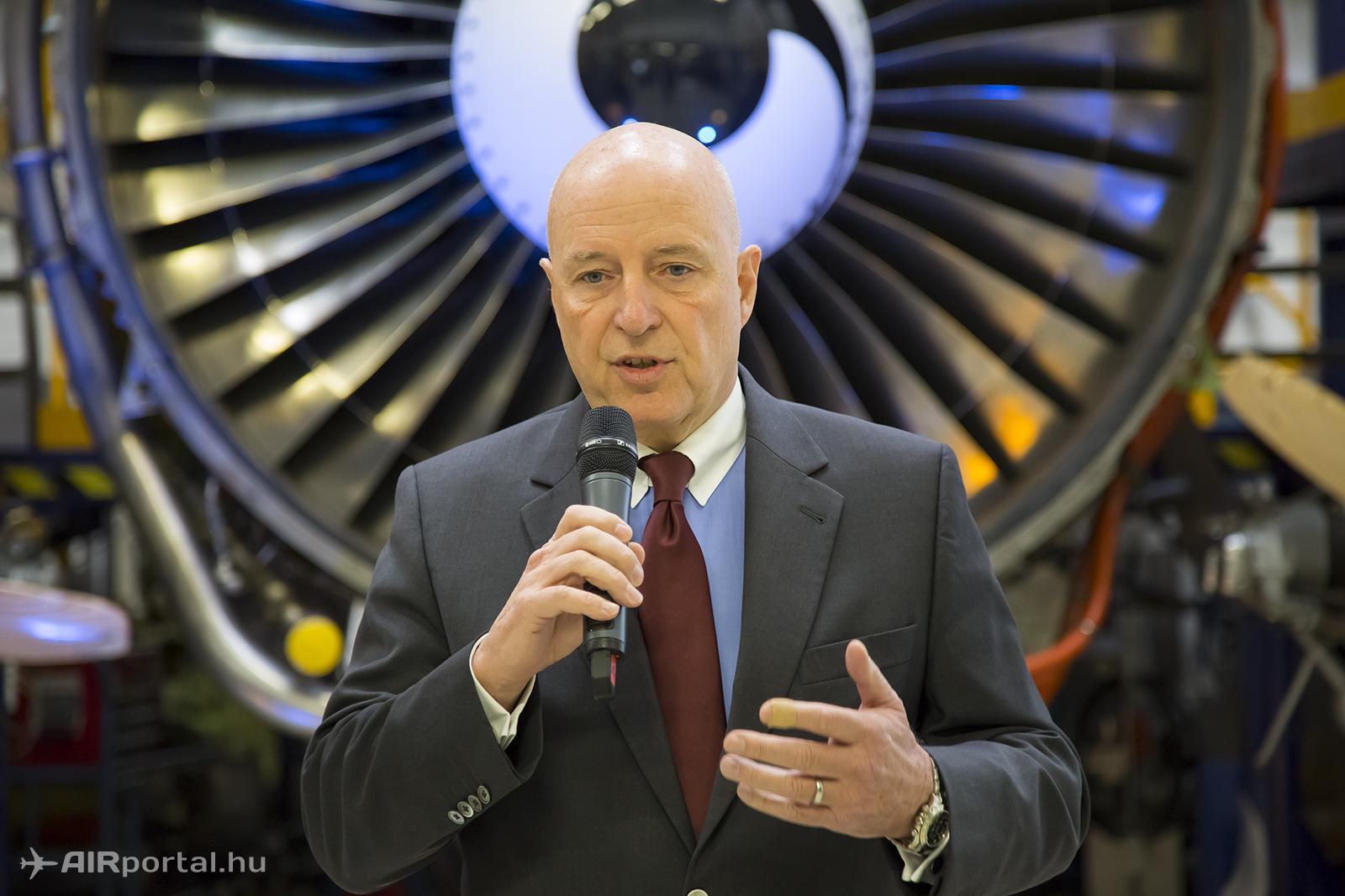 Kay Kratky, a Lufthansa a igazgatósági tagja. | © AIRportal.hu