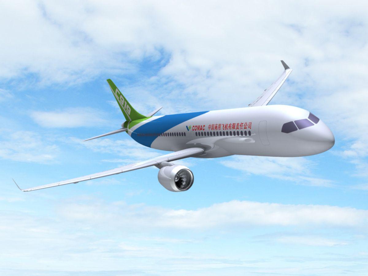 Fantáziarajz a C919-ről. (Forrás: airwaysnews.com) | © AIRportal.hu