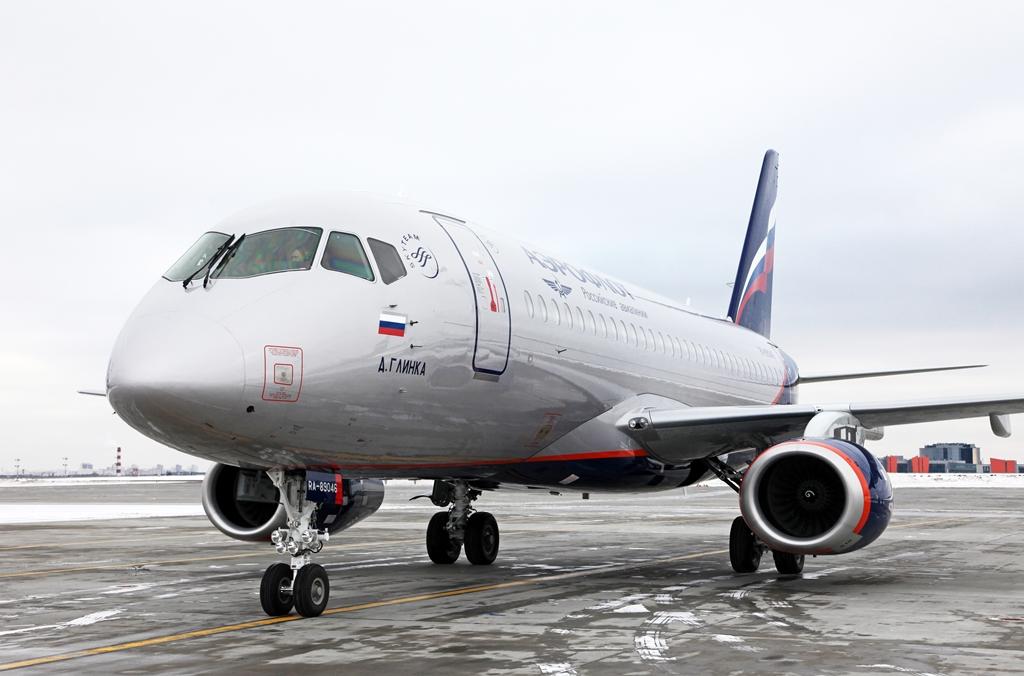 Az RA-89046 lajstromút pedig február 19-én adta át a Szuhoj. (Fotó: Aeroflot) | © AIRportal.hu