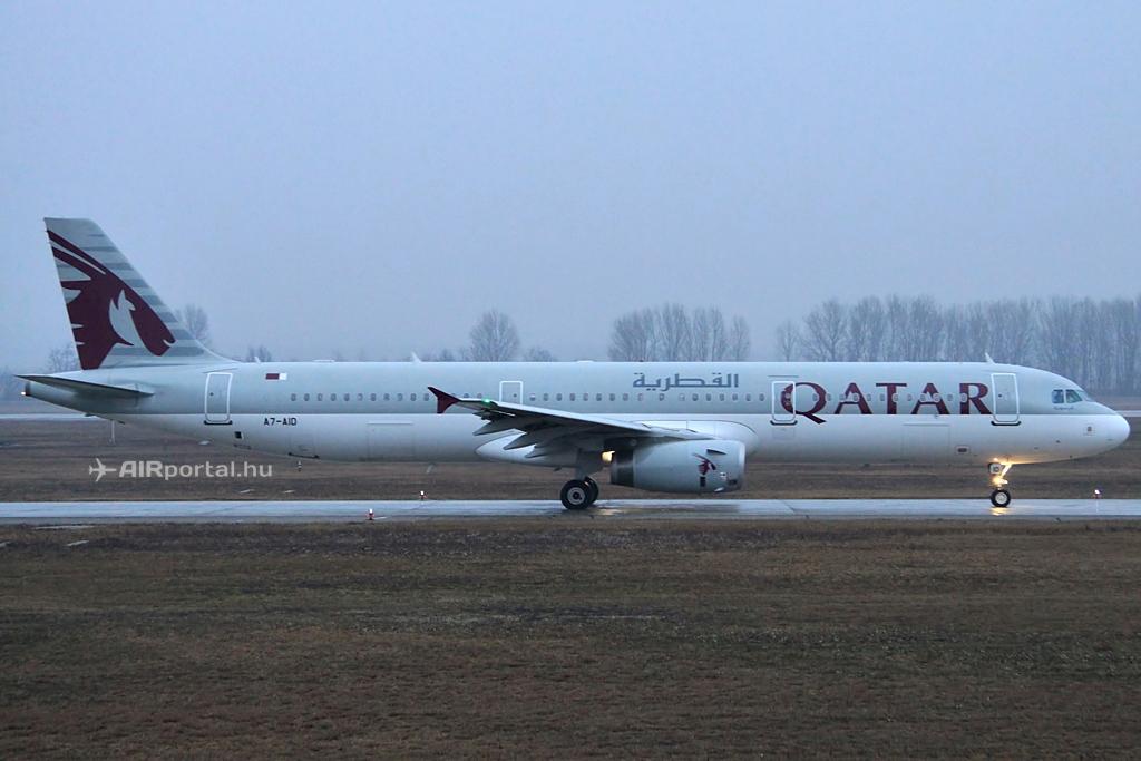 Az utolsó Budapesten keresztüli zágrábi járatot teljesítő Airbus A321-es. (Fotó: Csemniczky Kristóf - AIRportal.hu) | © AIRportal.hu