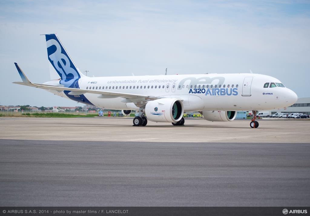Az Airbus A320neo 2014. szeptember 25-én teljesítette szűzfelszállását. (Fotó: Airbus)   © AIRportal.hu
