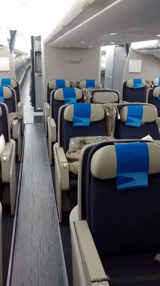 A Club Cóndor üzleti osztály összesen 24 utasnak. (Fotó: Aerolíneas Argentinas)   © AIRportal.hu