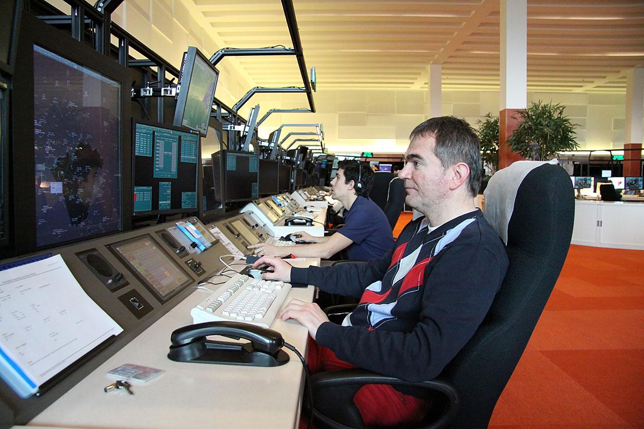 Idén két éve: A HungaroControl új irányítóközpontját, benne az új irányítóteremmel 2013. február 27-én avatták fel. (Fotó: Csemniczky Kristóf - AIRportal.hu) | © AIRportal.hu