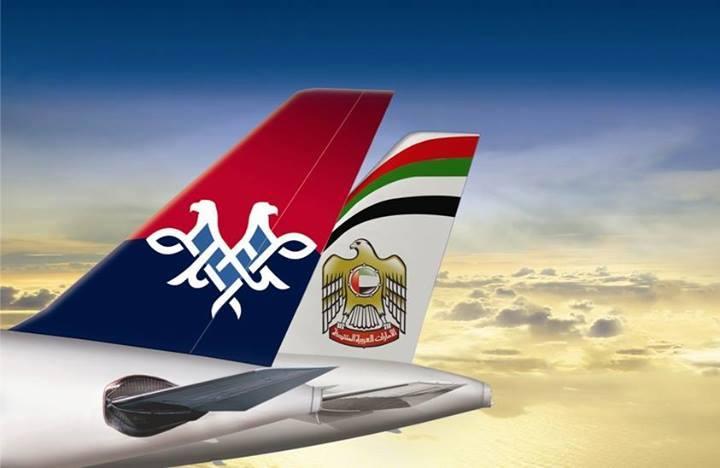 A Jat Airways 2013 augusztusában lépett stratégiai partnerségre az Etihad Airways-zel. (Fotó: Air Serbia) | © AIRportal.hu
