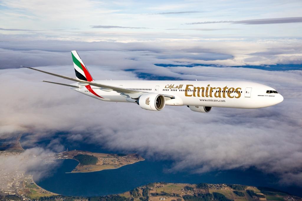 Az Emirates Boeing 777-300ER repülőgépe. (Fotó: Emirates)   © AIRportal.hu