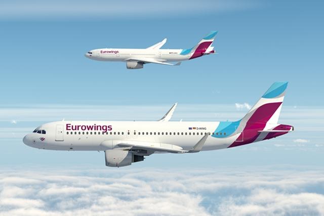 3a630d1a74c2 Elstartolt az új Eurowings