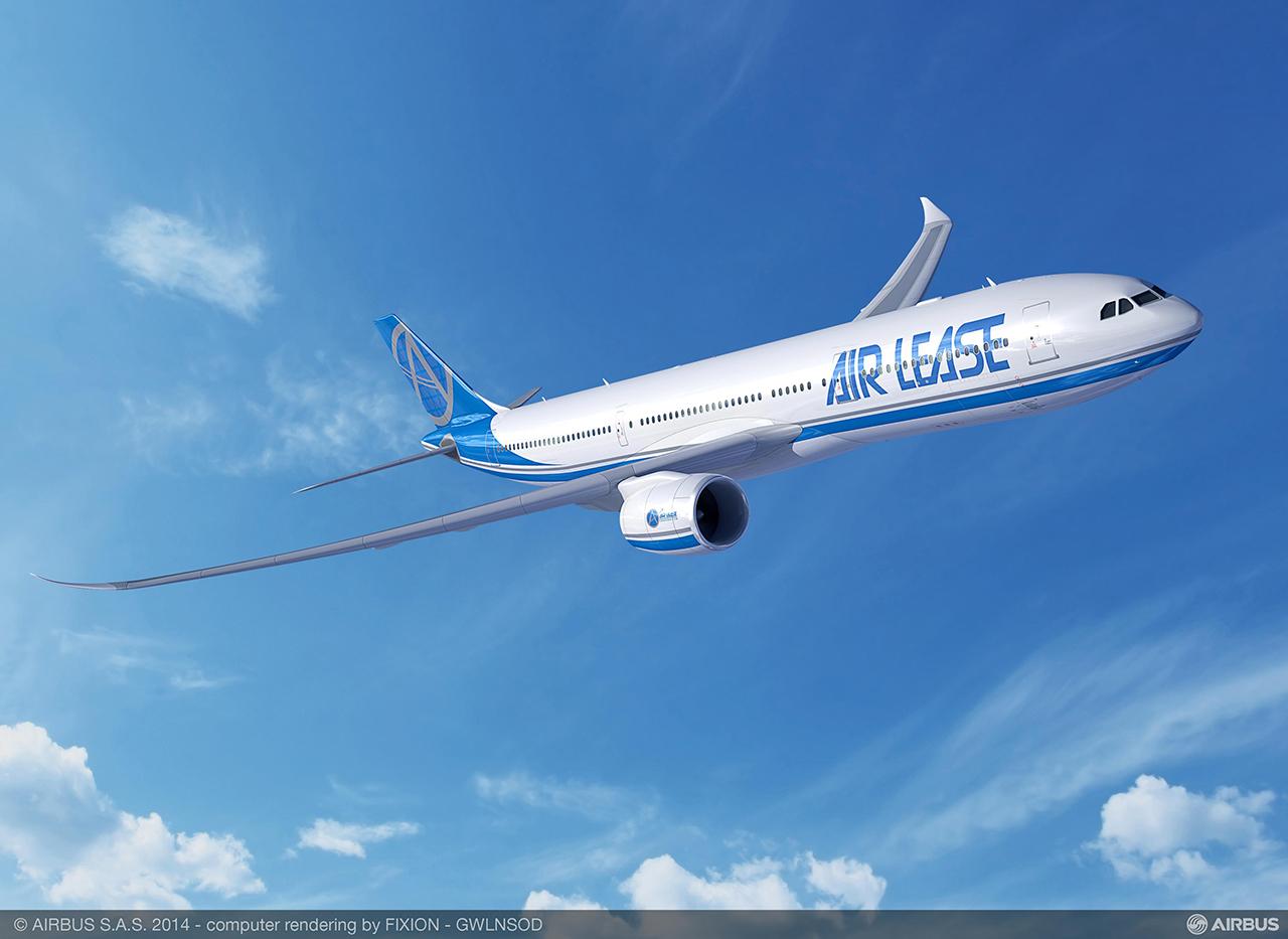 Az A330-900neo látványterve az ALC képzeletbeli festésében (Grafika: Airbus) | © AIRportal.hu