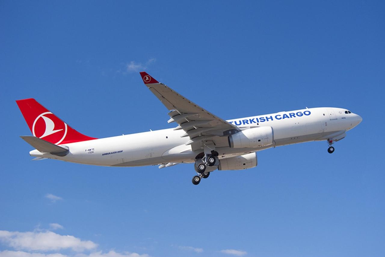 Turksih Cargo A330-200F felszállás közben. (Fotó: Airbus) | © AIRportal.hu