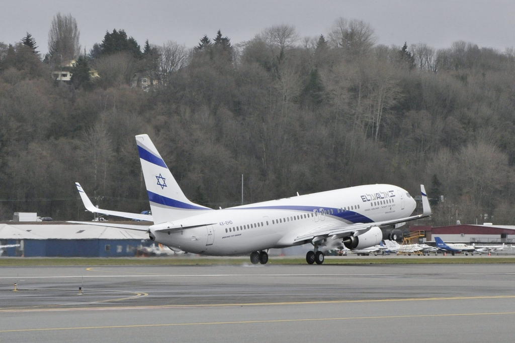 Az El Al ötvenedik Boeingje, amely a flotta ötödik megnövelt hatótávú 737-900-asa. (Fotó: Boeing Company) | © AIRportal.hu