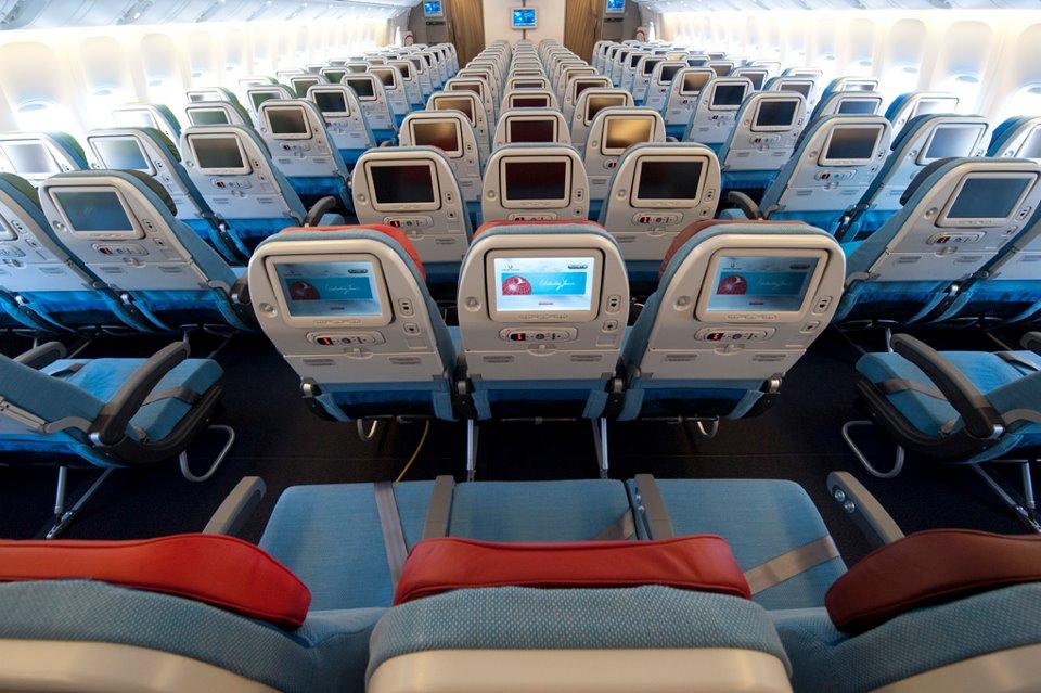 Economy Class a Boeing 777-300ER-en. (Fotó: Turkish Airlines) | © AIRportal.hu
