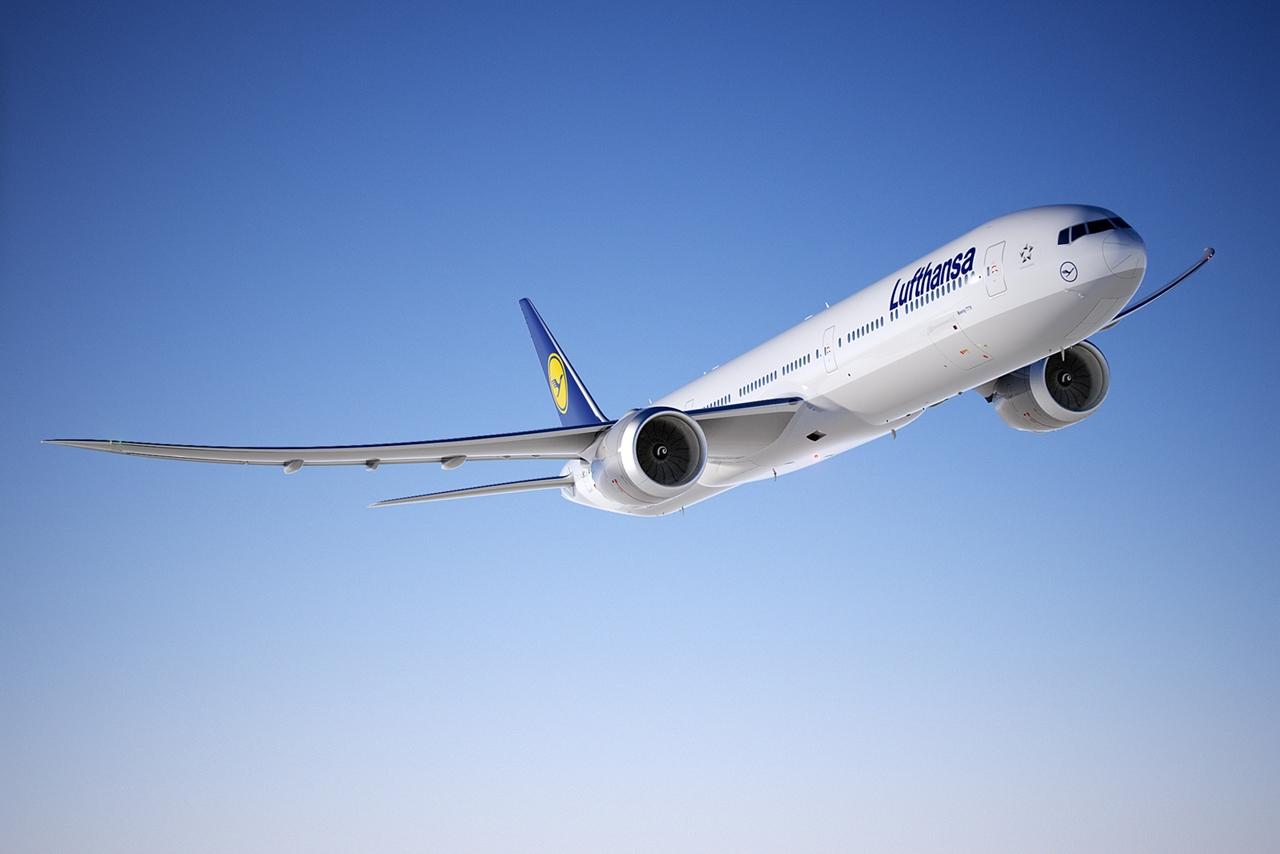 A Lufthansának is lesz utasszállító 777-ese, de a németek maguknak már az új generációs 777-9X-ből rendeltek, 34 darabot. (Fotó: Boeing Company via Lufthansa)   © AIRportal.hu