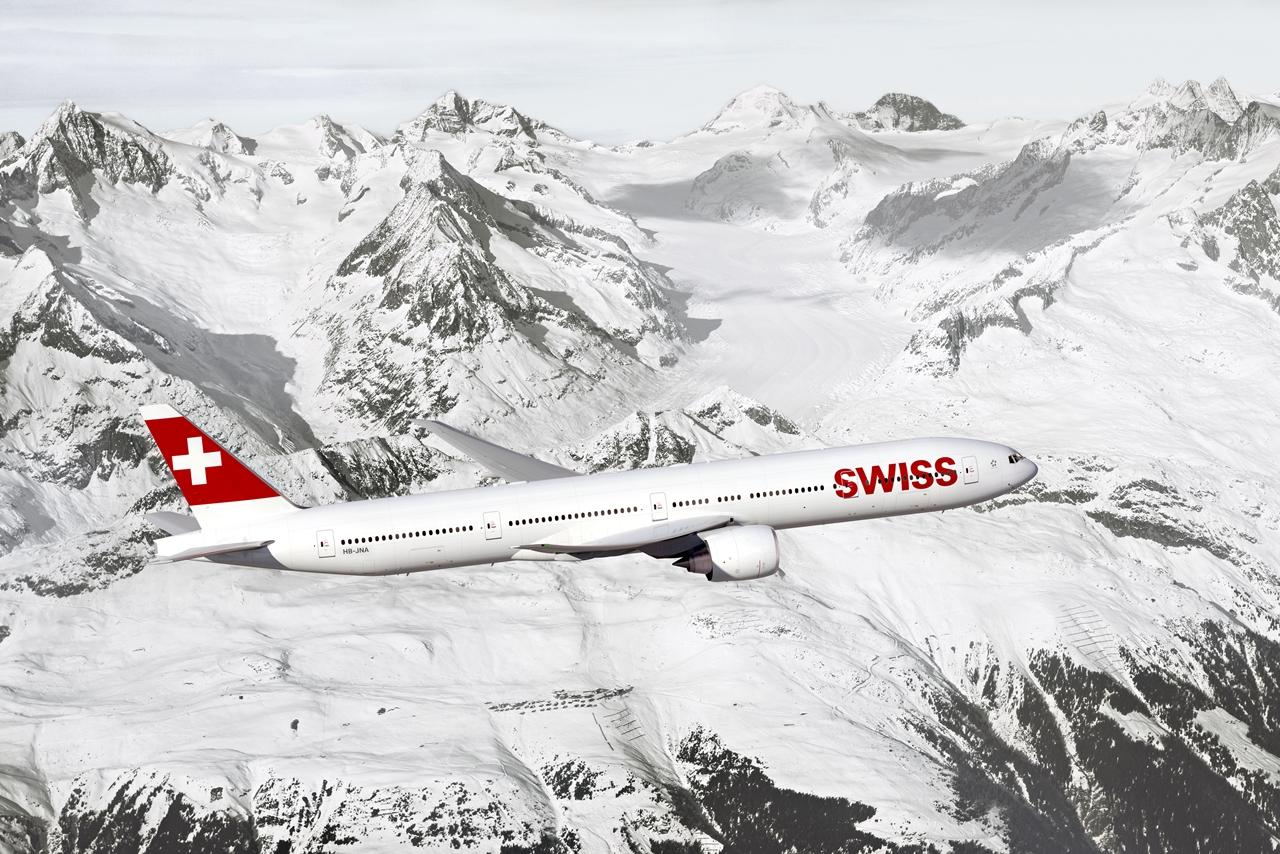 Swiss Boeing 777-300ER látványterv. Hat gépre már biztos a megrendelés. (Forrás: Swiss International Air Lines)   © AIRportal.hu