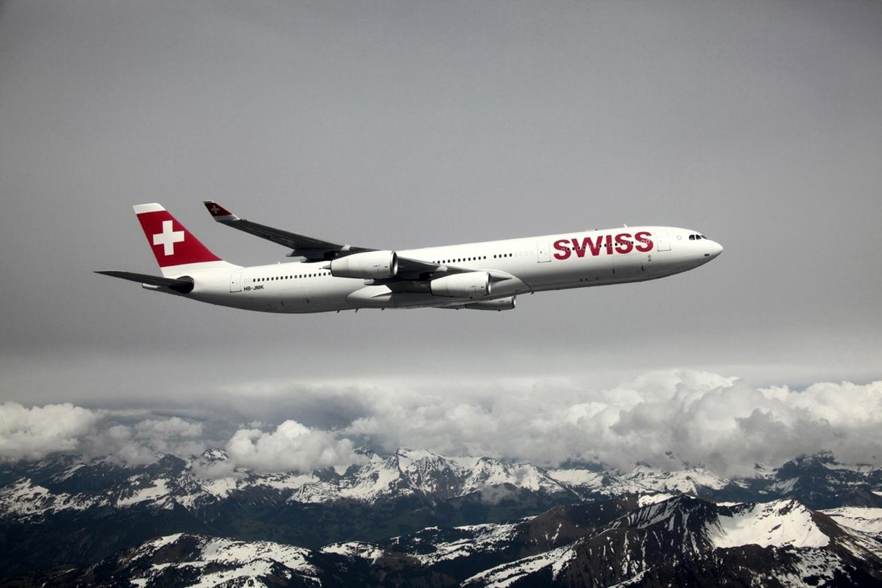 A négy-hajtóműves, mára már kevésbé gazdaságos A340-300-asból 15 darab van a flottában. (Fotó: Swiss International Air Lines)   © AIRportal.hu
