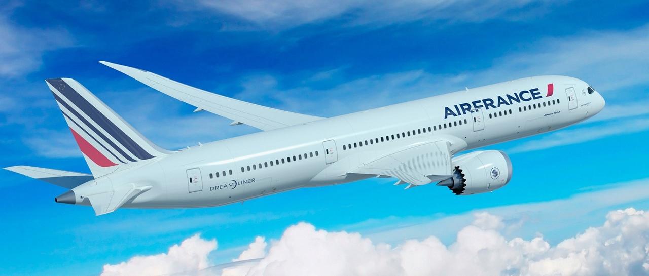 Air France Boeing 787-9 computer grafikán. (Forrás: Boeing Company) | © AIRportal.hu