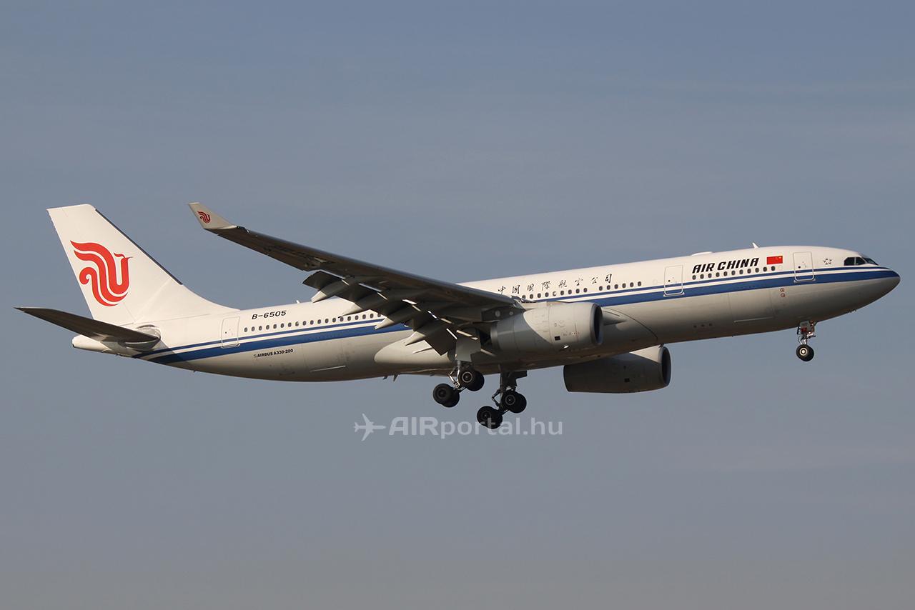 Az Air China Airbus A330-as repülőgépe. (Fotó: AIRportal.hu) | © AIRportal.hu
