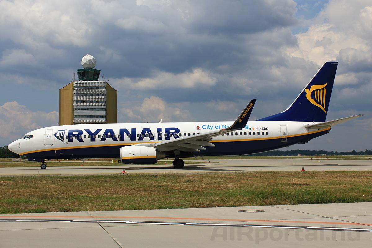 A Ryanair továbbra is kitart a Boeing mellett, hamarosan 737 MAX-ok is csatlakoznak a flottához. (Fotó: Rimóczi Roland - AIRportal.hu) | © AIRportal.hu