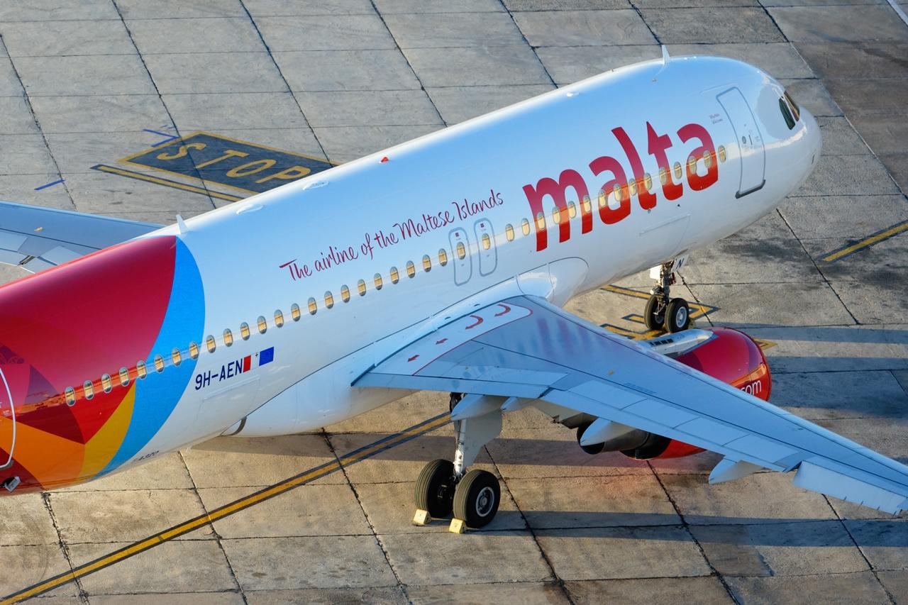 Az Air Malta Airbus A319/A320 típusokkal üzemelteti járatait. (Fotó: Air Malta) | © AIRportal.hu