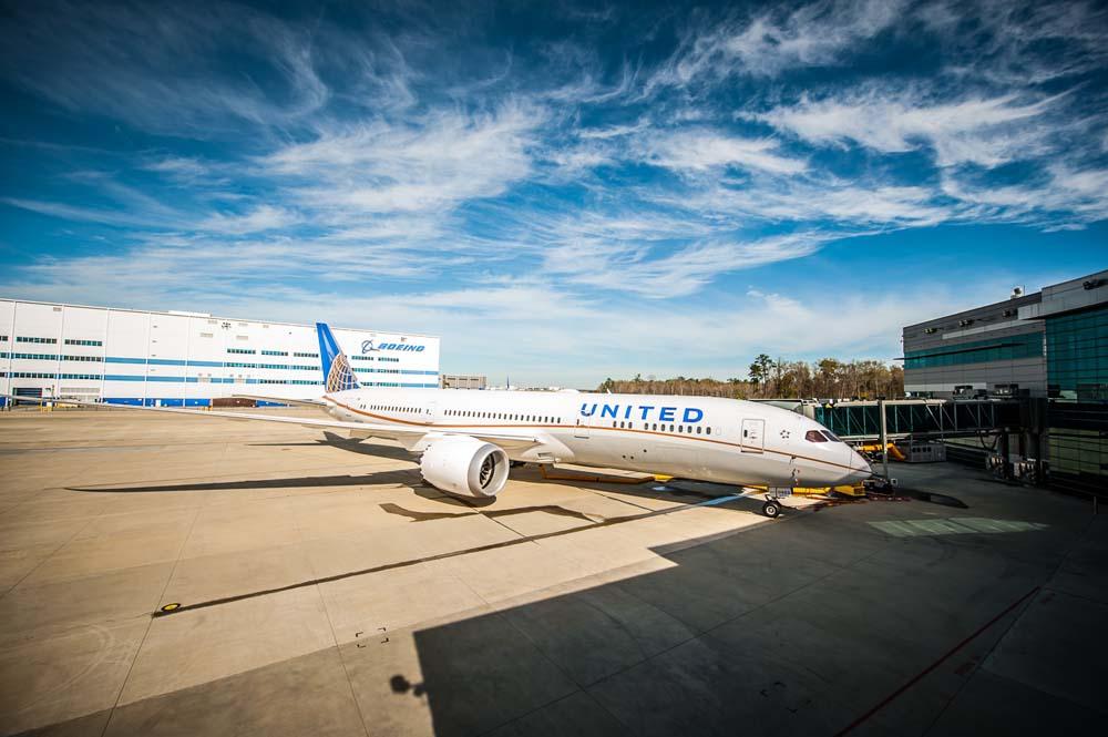 A Boeing South Carolina üzemében készült első 787-9-es az átadás napján. (Fotó: Boeing Company) | © AIRportal.hu