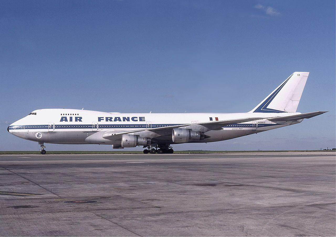Air France Boeing 747-100-as 1978-ban Párizsban. (Fotó: Michel Gilliand - Wikimedia) | © AIRportal.hu