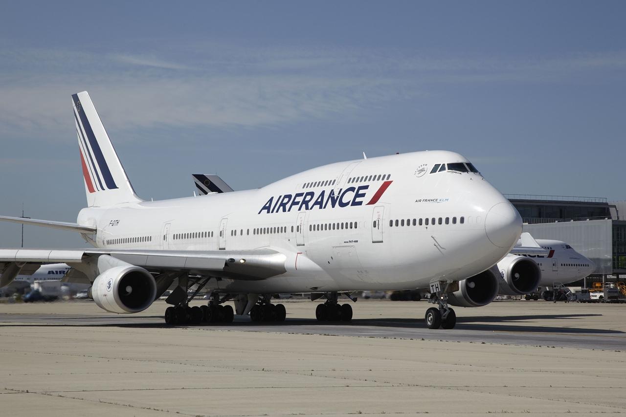 Boeing 747-400 napjainkban, a francia légitársaság legújabb festésében. (Fotó: Air France) | © AIRportal.hu