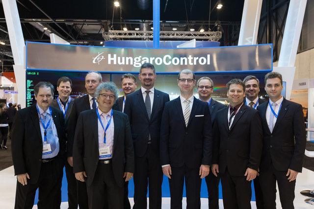 A HungaroControl delegációja Madridban. (Fotó: HungaroControl)   © AIRportal.hu