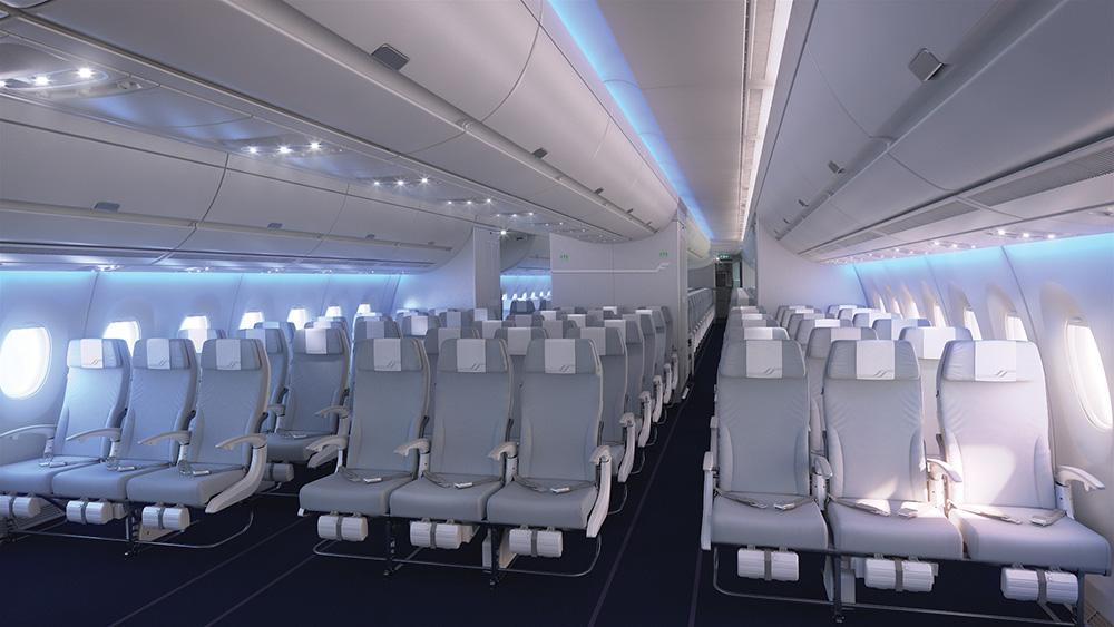 A350-900XWB fedélzeti látványterv. (Forrás: Finnair)   © AIRportal.hu