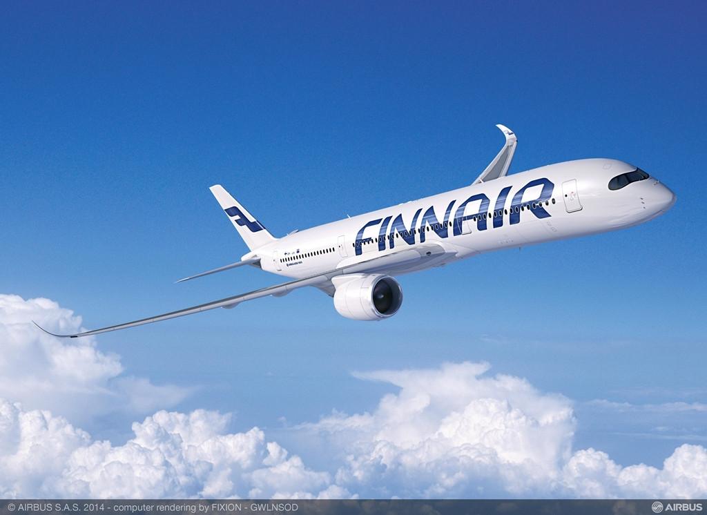 Finnair A350-900XWB computer grafika. (Forrás: Airbus)   © AIRportal.hu