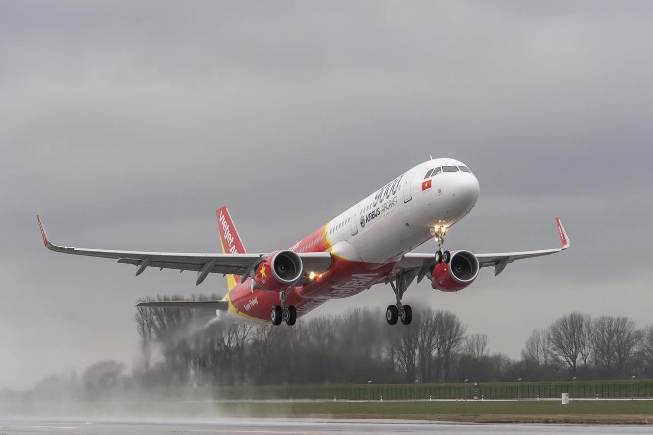 Az Airbus kilencezredik gépe a VietJetAir első A321-es típusa. (Fotó: Airbus) | © AIRportal.hu
